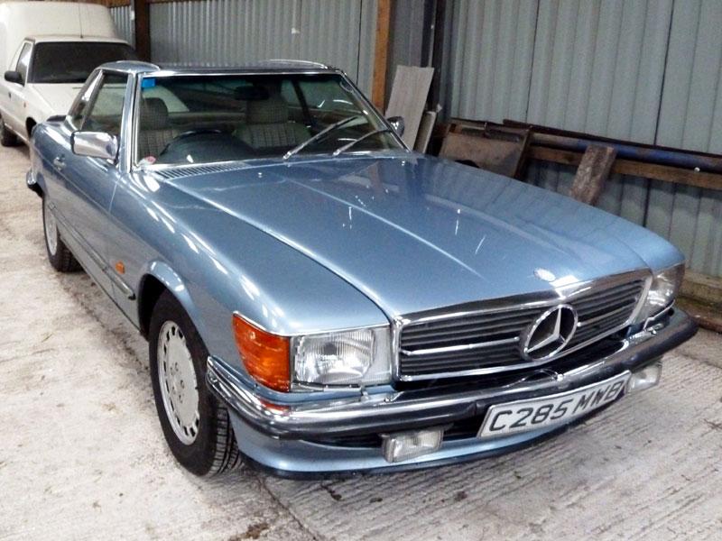 Lot 51-1986 Mercedes-Benz 420 SL