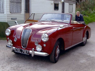 Lot 45-1955 Lagonda 3 Litre Drophead Coupe