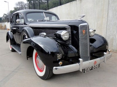 Lot 67-1937 Cadillac 37/50 La Salle Sedan