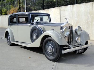Lot 22-1934 Rolls-Royce 20/25 Saloon