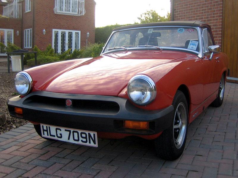 Lot 50 - 1975 MG Midget 1500