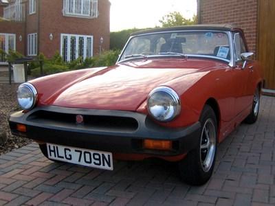 Lot 50-1975 MG Midget 1500