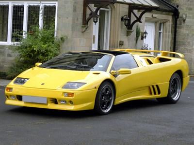 Lot 85-1999 Lamborghini Diablo VT Roadster