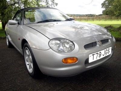 Lot 68-1999 MG F 1.8