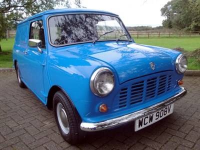 Lot 64-1979 Mini 95 Van