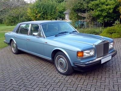 Lot 8-1990 Rolls-Royce Silver Spur II