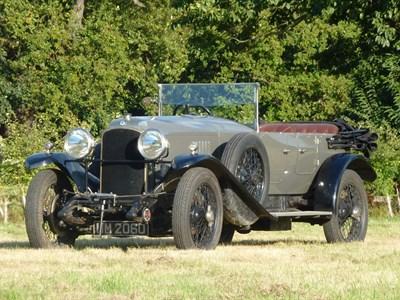 Lot 55-1925 Vauxhall 30/98 OE-Type Tourer