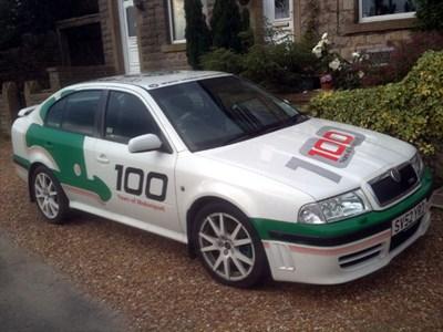 Lot 35-2003 Skoda Octavia VRS WRC Limited Edition