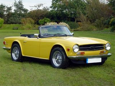 Lot 33-1973 Triumph TR6
