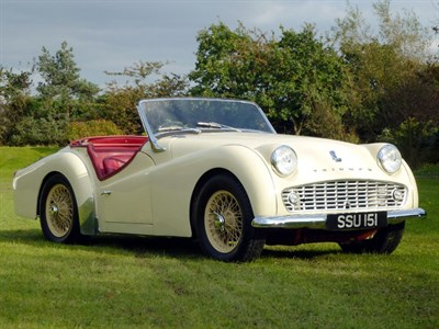 Lot 47-1958 Triumph TR3A