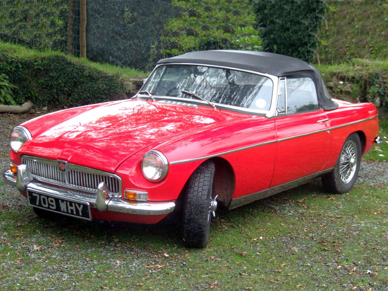 Lot 12-1964 MG B Roadster