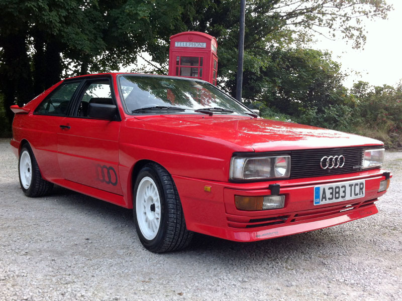Lot 43-1984 Audi Quattro