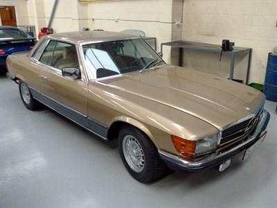 Lot 7-1981 Mercedes-Benz 500 SLC