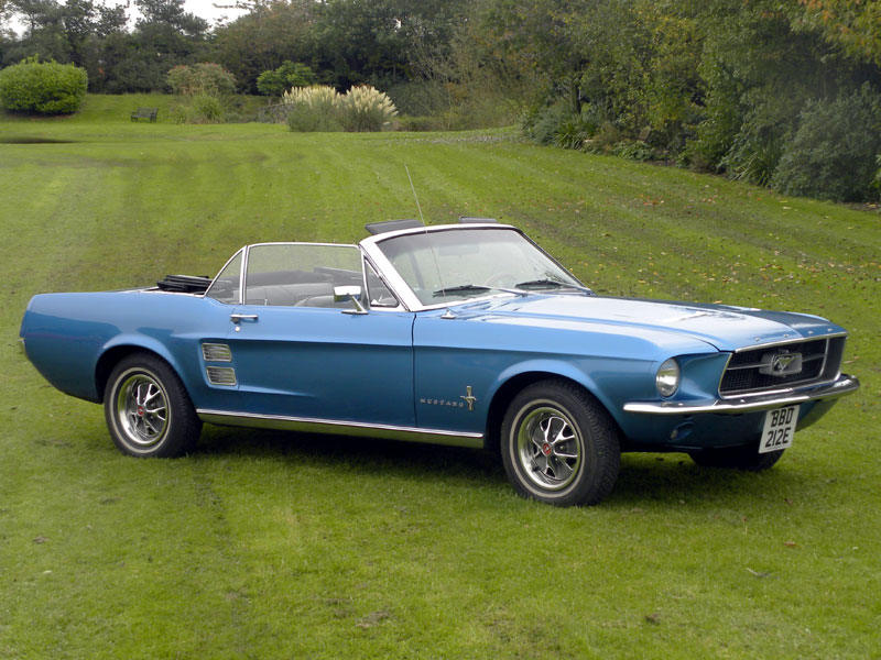 Lot 36 - 1967 Ford Mustang 289 Convertible