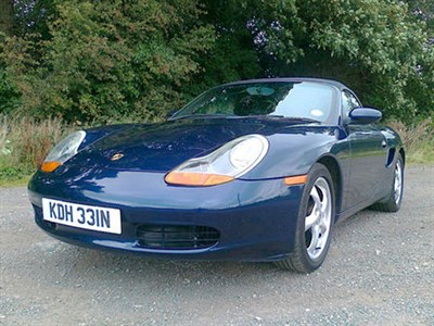 Lot 84-2000 Porsche Boxster