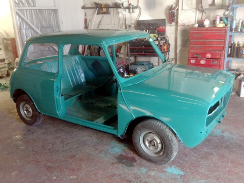 Lot 4-1971 BL Mini Clubman