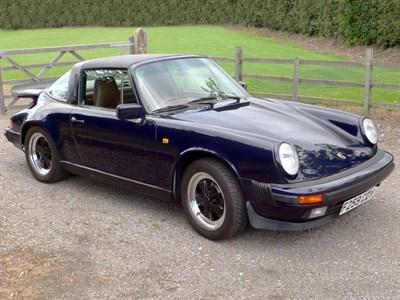 Lot 38-1989 Porsche 911 Carrera 3.2 Targa