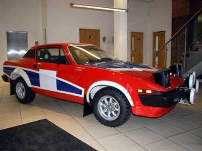 Lot 72-1979 Triumph TR7 Rally Car