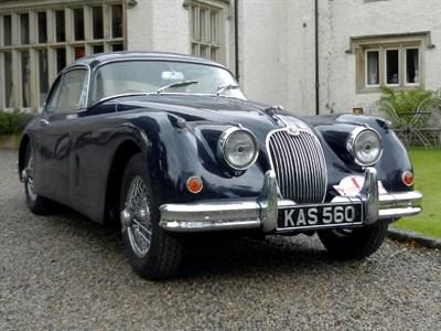 Lot 24-1958 Jaguar XK150 3.4 Litre Fixed Head Coupe