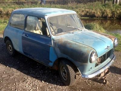 Lot 23-1960 Morris Mini Minor