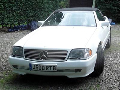 Lot 86-1995 Mercedes-Benz SL 500