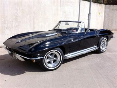 Lot 34-1964 Chevrolet Corvette Sting Ray Convertible