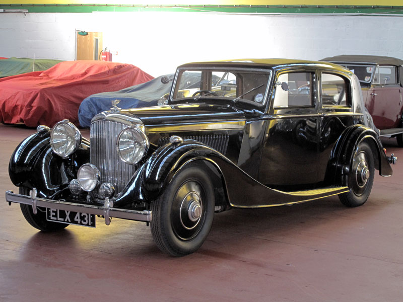 Lot 92-1937 Bentley 4.25 Litre Sports Saloon