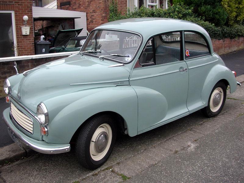 Lot 94-1969 Morris Minor 1000
