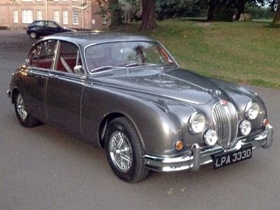 Lot 96-1966 Jaguar MK II 3.4 Litre