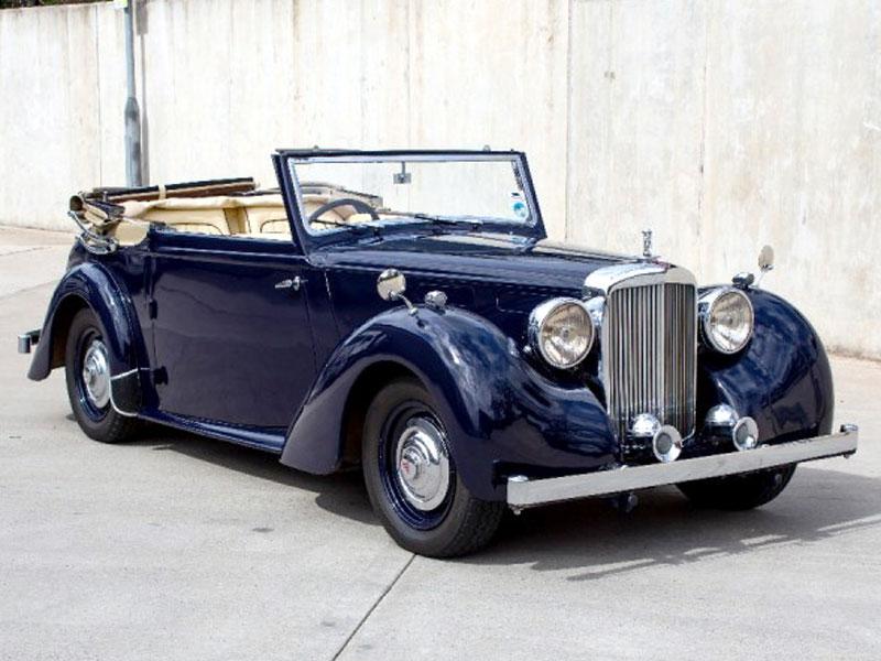 Lot 97 - 1948 Alvis TA14 Tickford Drophead Coupe
