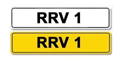 Lot 1-Registration Number RRV 1