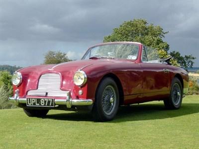 Lot 16-1955 Aston Martin DB2/4 2.9 Litre Drophead Coupe