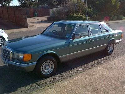 Lot 35-1983 Mercedes-Benz 380 SEL