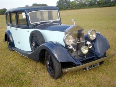 Lot 27-1936 Rolls-Royce 25/30 Limousine