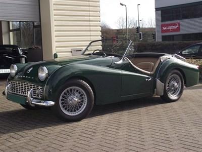 Lot 24-1960 Triumph TR3A