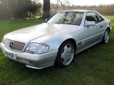 Lot 45-1993 Mercedes-Benz 300 SL
