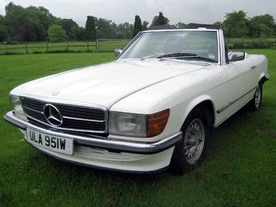 Lot 3-1980 Mercedes-Benz 380 SL
