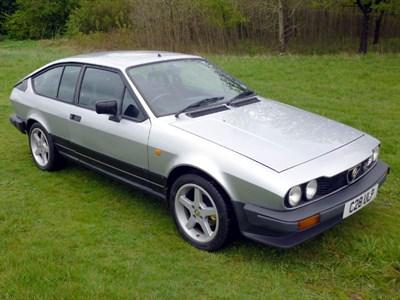 Lot 2-1986 Alfa Romeo GTV 2.0