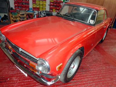 Lot 30-1973 Triumph TR6