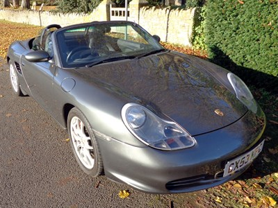 Lot 20-2003 Porsche Boxster S