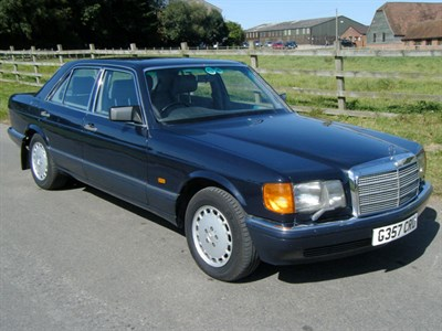 Lot 41-1989 Mercedes-Benz 500 SE