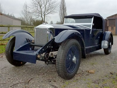 Lot 49 - 1930/2012 Invicta 4.5 Litre S-Type Low Chassis Tourer Reconstruction