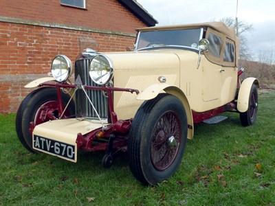 Lot 38-1933 Talbot BA75 3.3 Litre Special Tourer