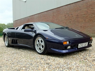 Lot 59-1996 Lamborghini Diablo Roadster