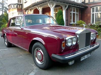 Lot 5-1980 Rolls-Royce Silver Shadow II