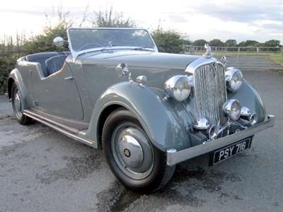 Lot 26-1947 Rover 12hp Tourer