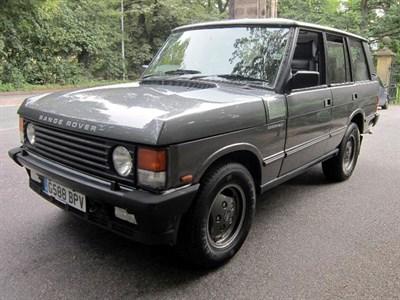 Lot 9-1990 Range Rover Vogue SE Overfinch 500