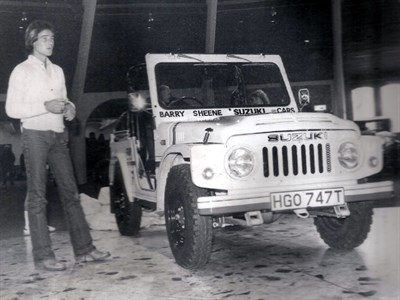 Lot 27-1979 Suzuki LJ80R ex-Barry Sheene