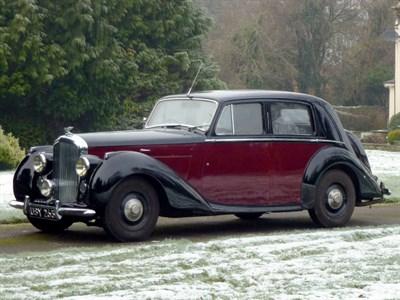 Lot 34-1949 Bentley MK VI Saloon