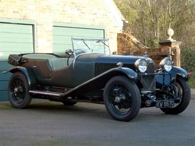 Lot 28-1929 Lagonda 2 Litre Low Chassis Speed Model Tourer